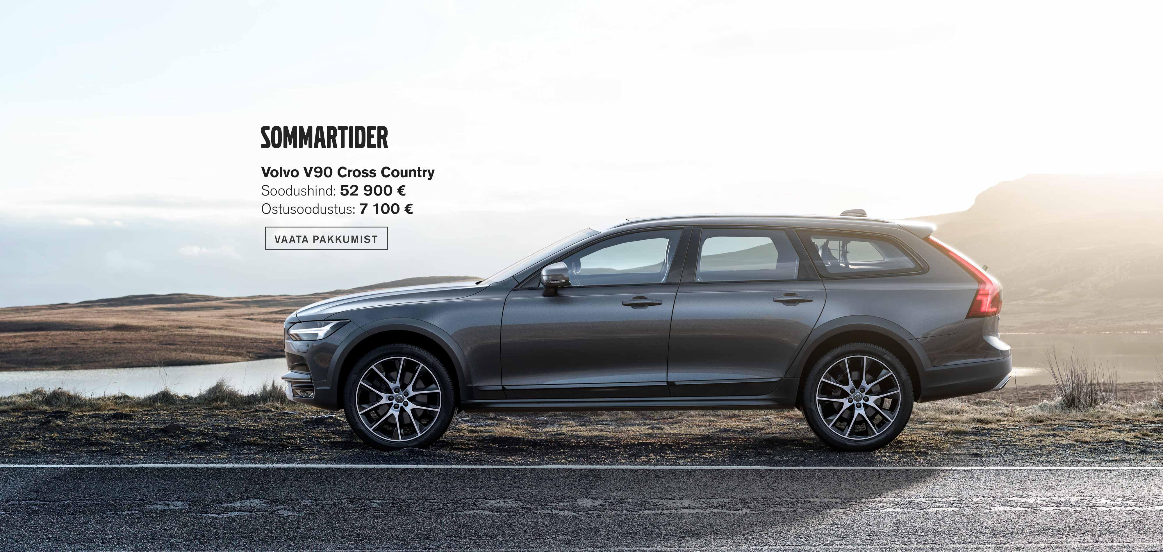 Sommartider - Volvo V90 Cross Country