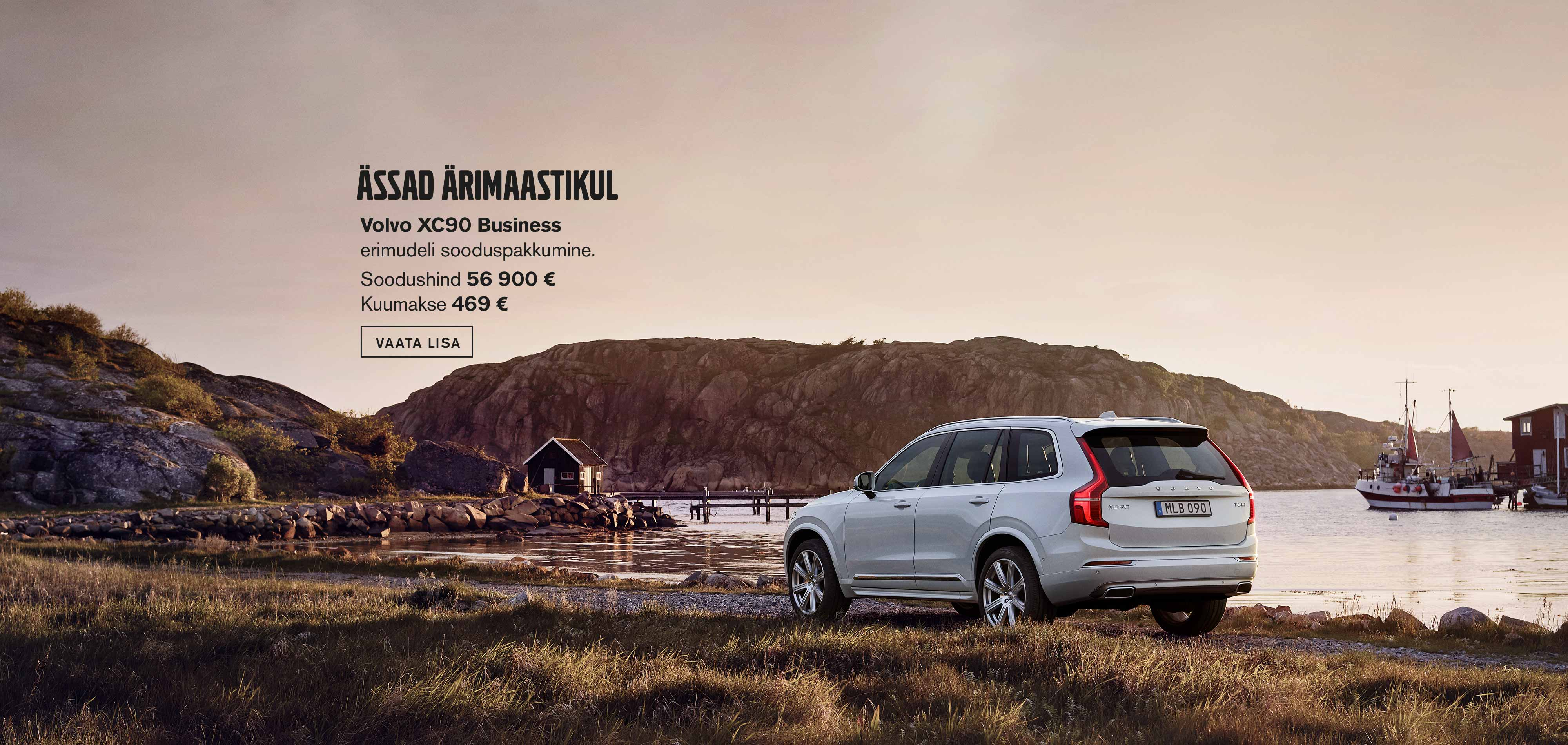 Volvo XC90 Business erimudel