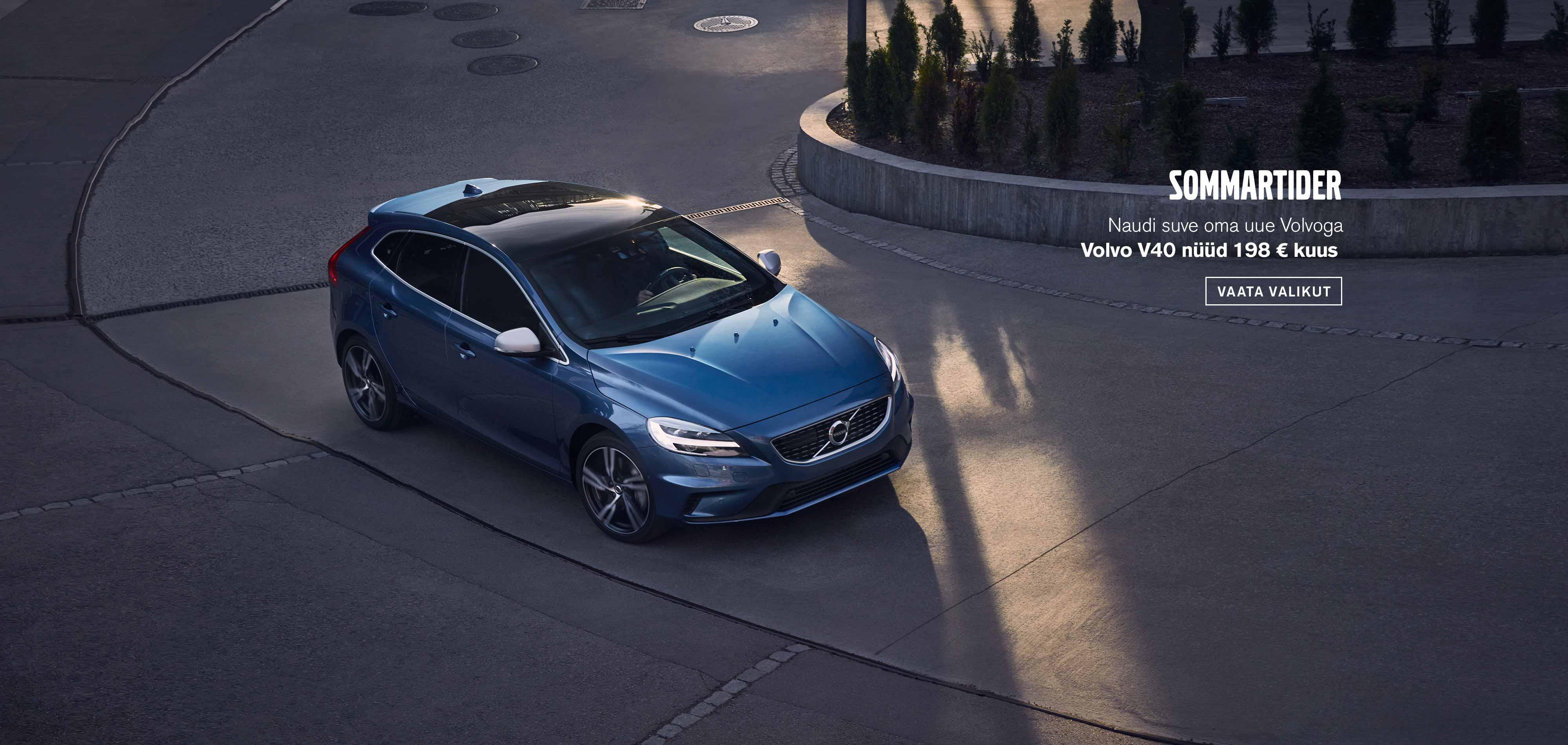 Sommartider - Volvo V40 suvised sooduspakkumised
