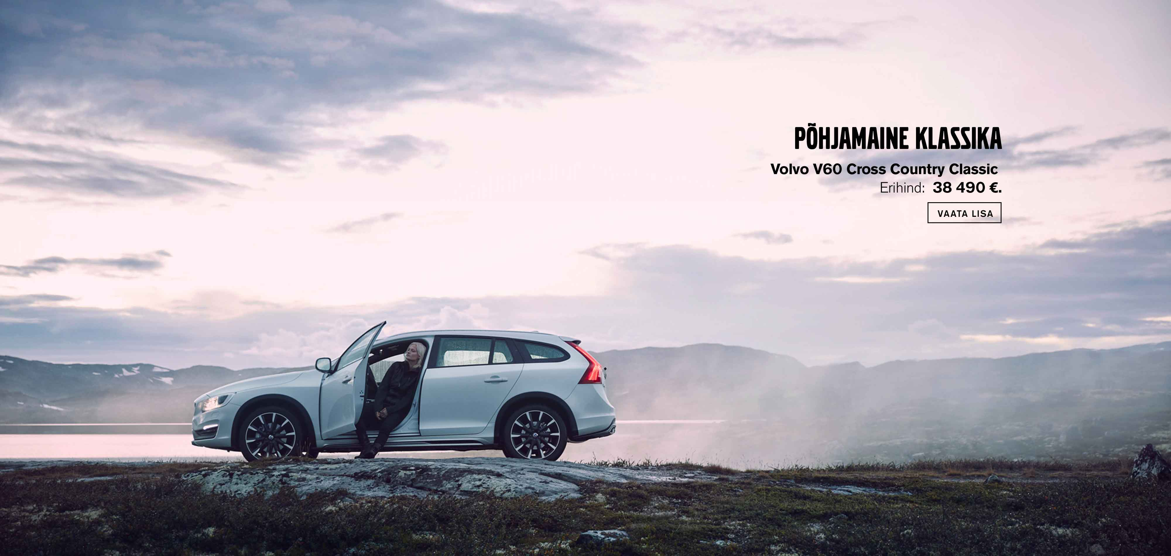 Volvo V60 Cross Country Classic erimudel