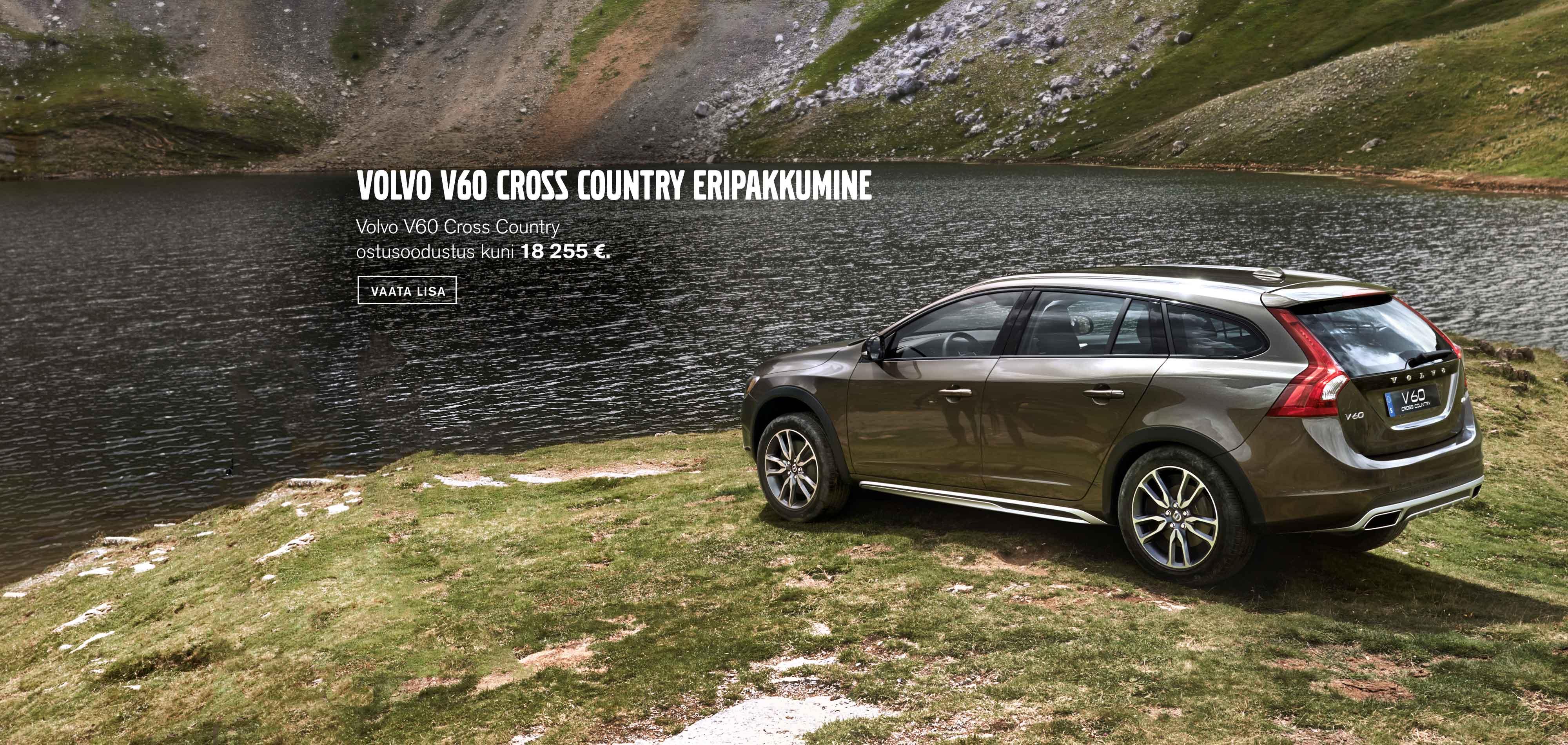 Volvo V60 Cross Country eripakkumine