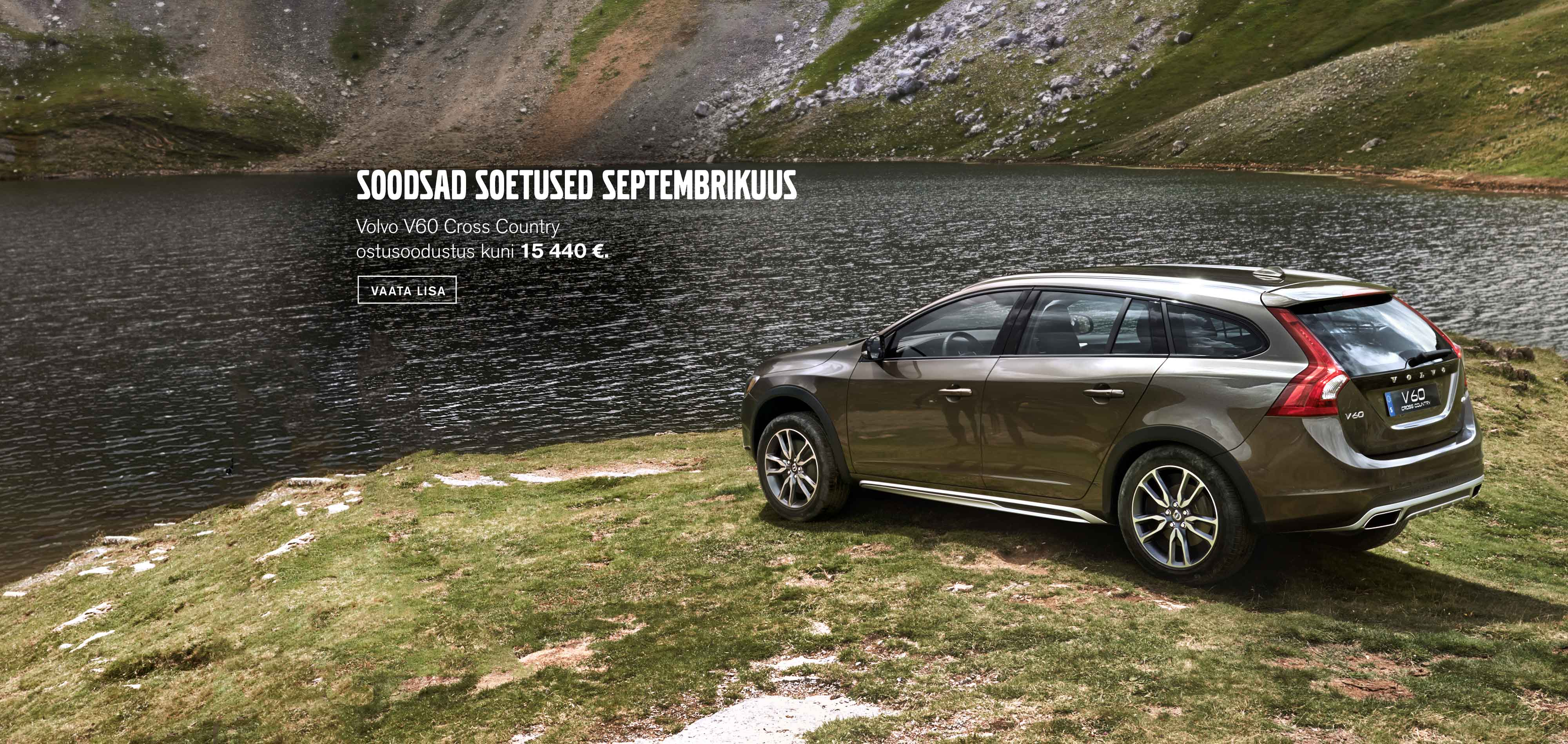 Volvo V60 Cross Country septembrikuu sooduspakkumised