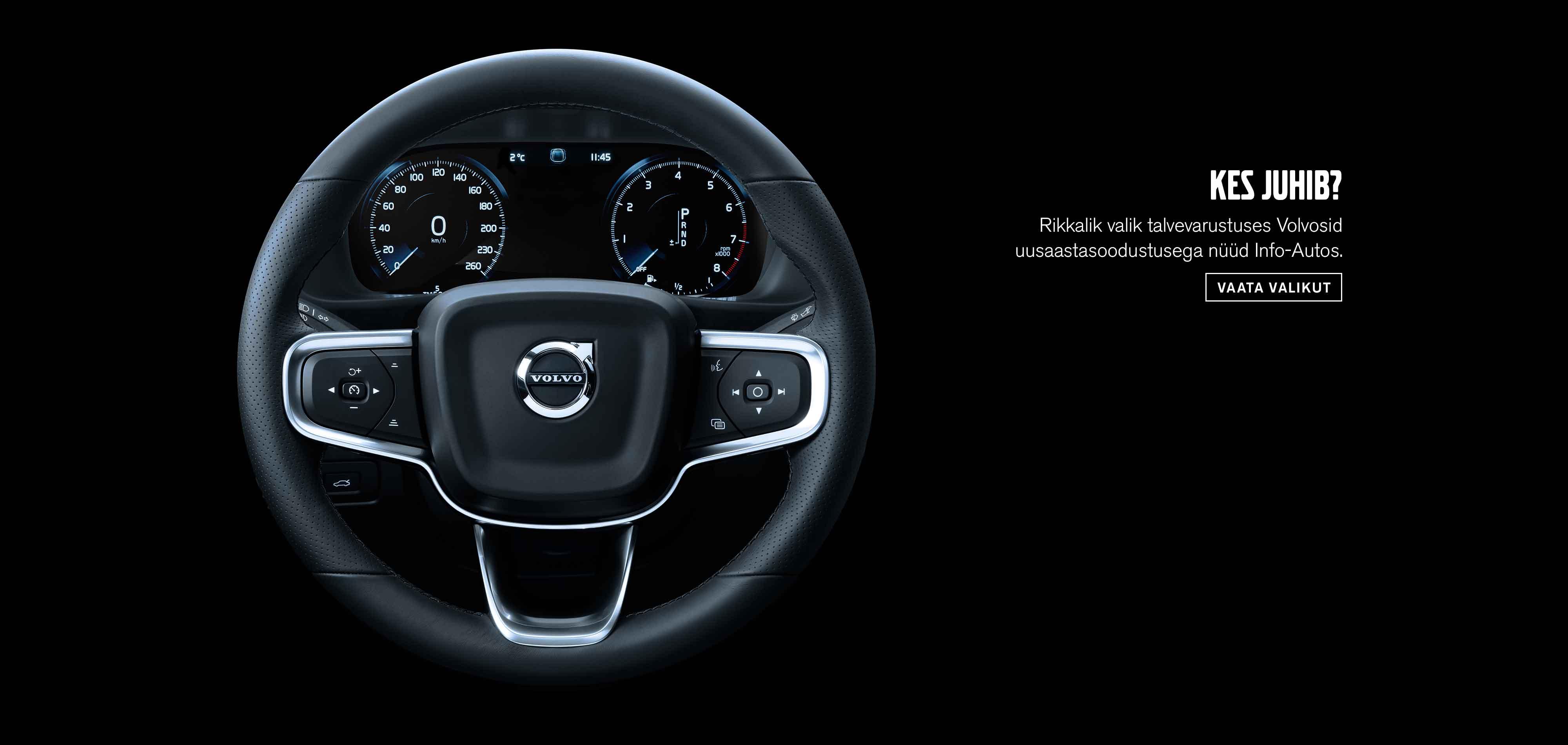 Volvo laoautode uusaastapakkumine