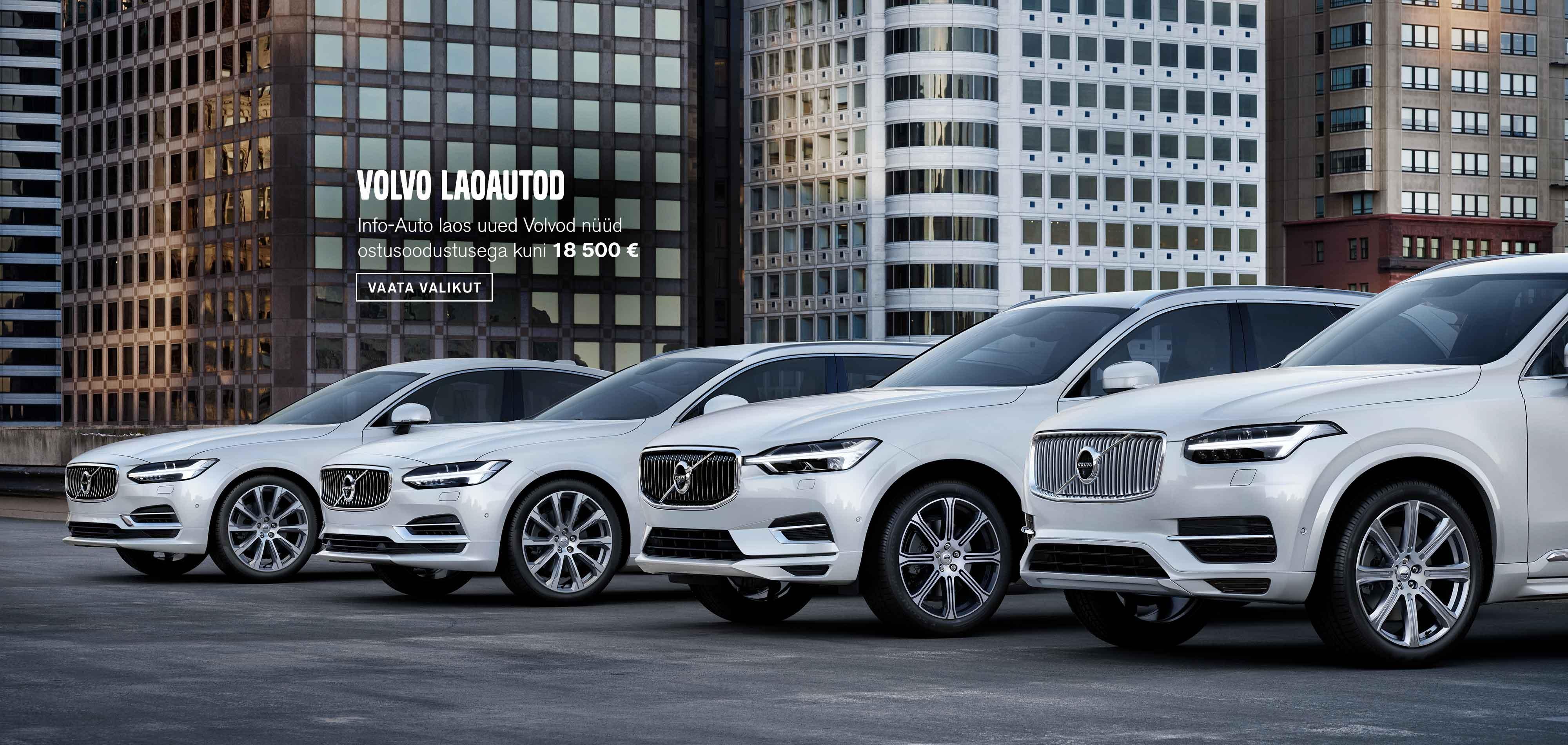 Sügispakkumised - Volvo laoautod