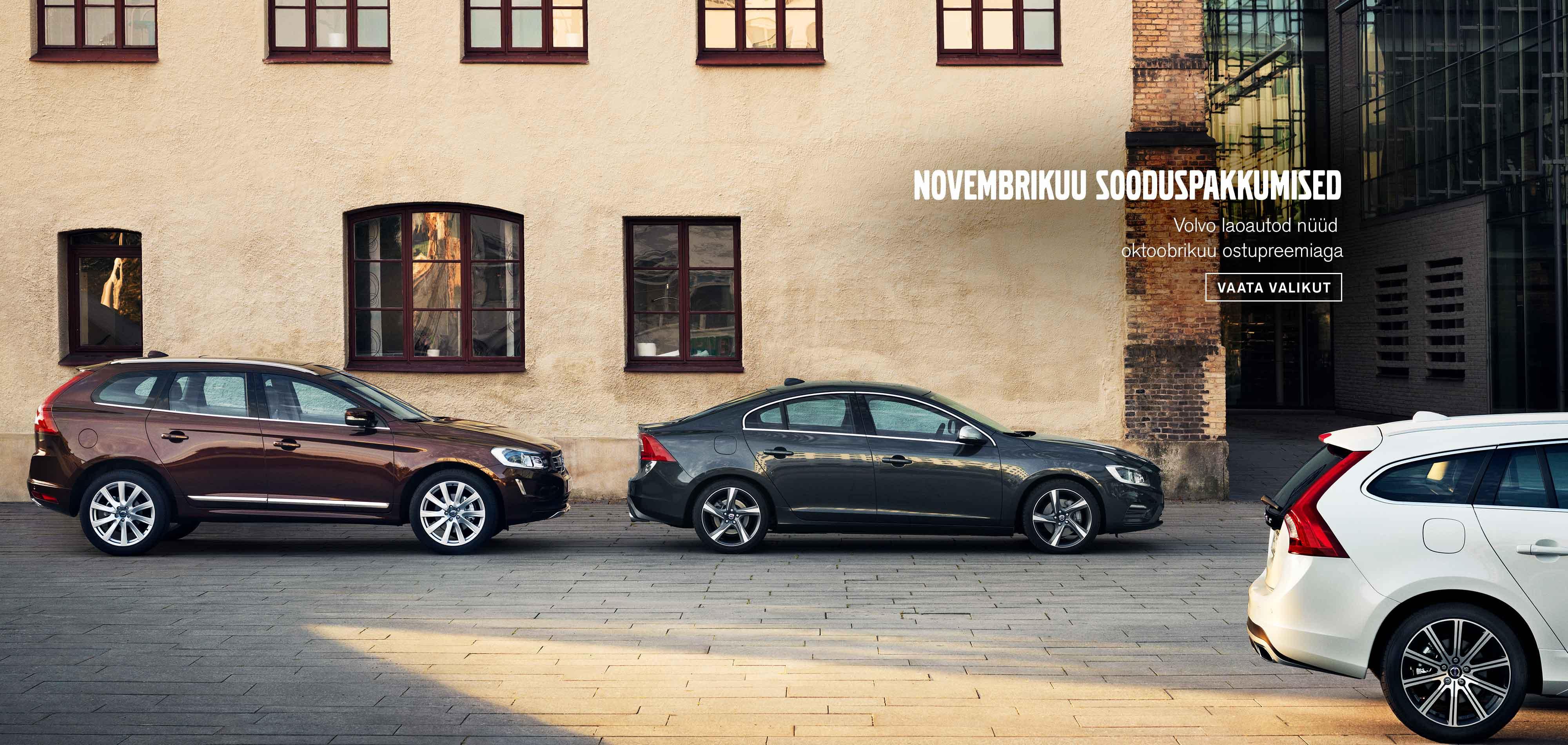 Volvo laoautode novembrikuu sooduspakkumised