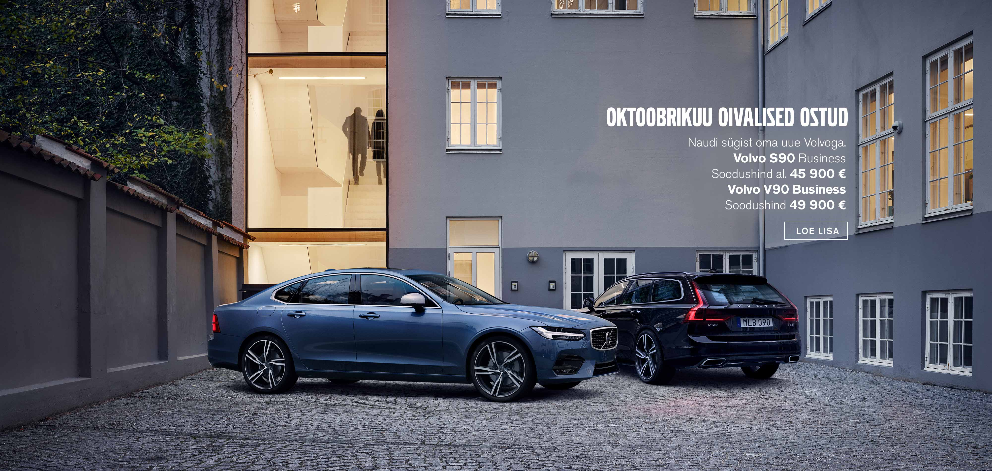 Volvo S90 ja V90 Business erimudelid