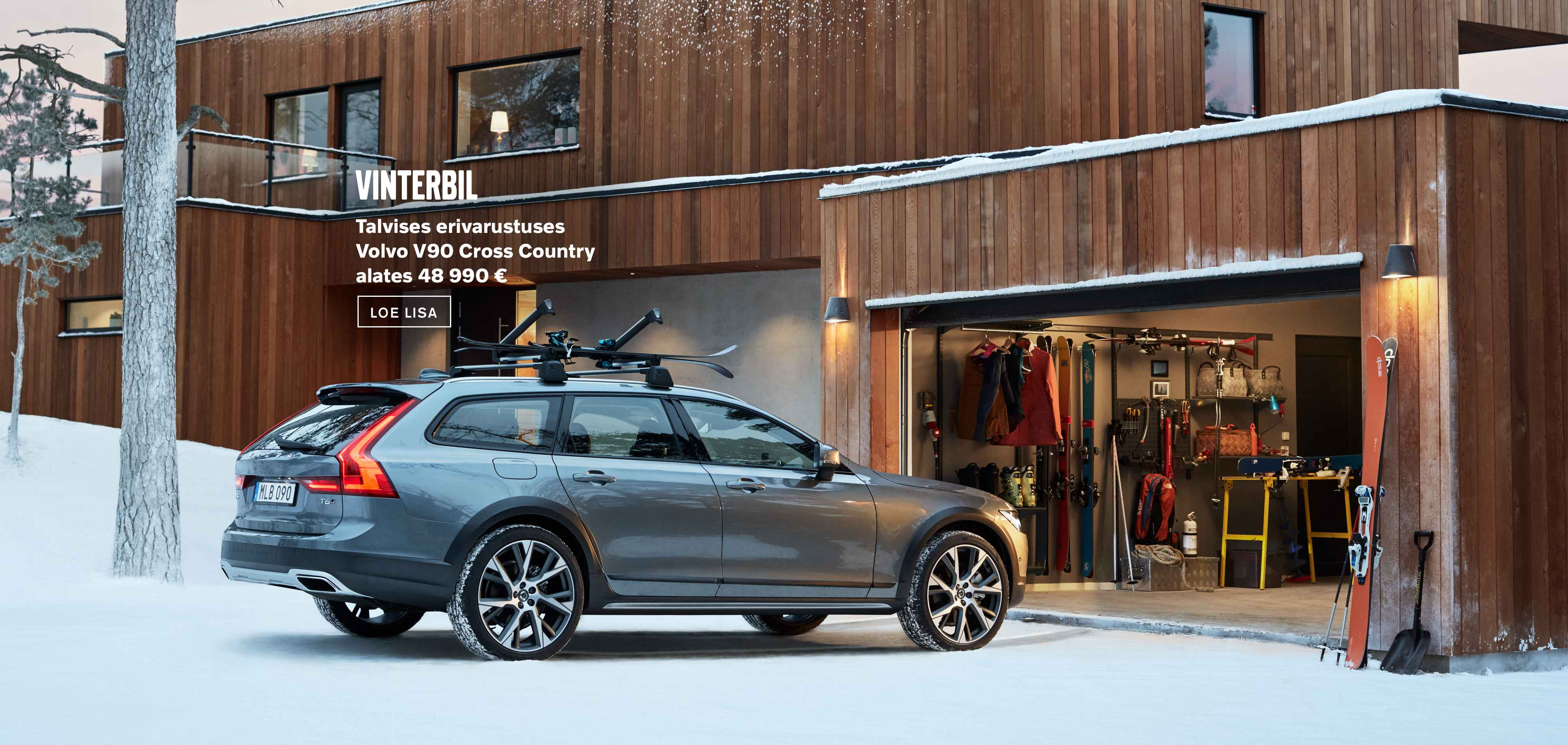 Vinterbil - Volvo V90 Cross Country