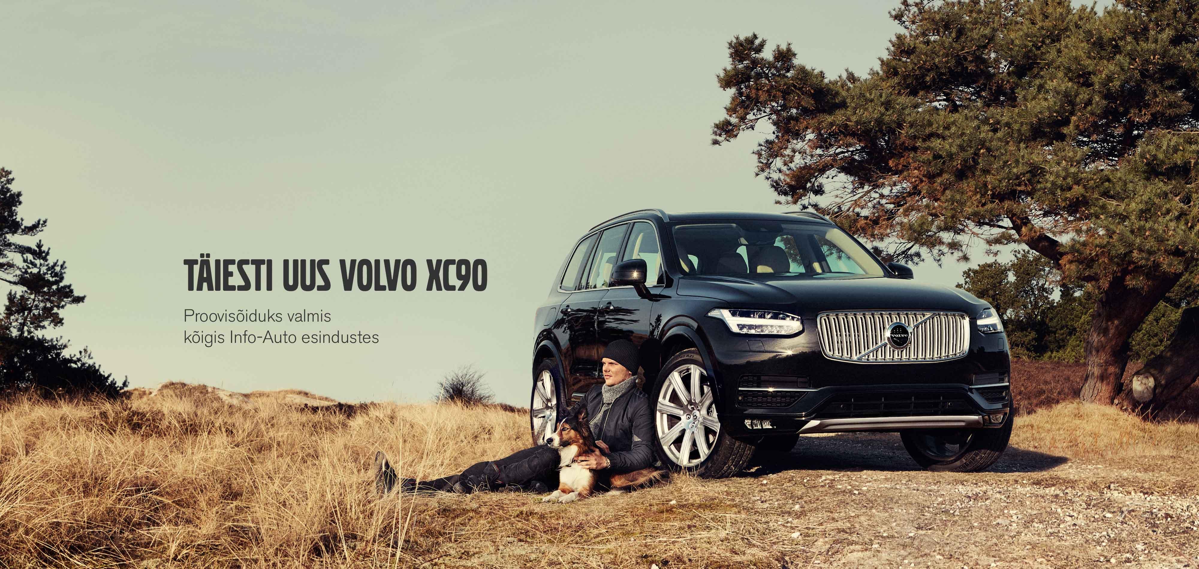 Täiesti uus Volvo XC90